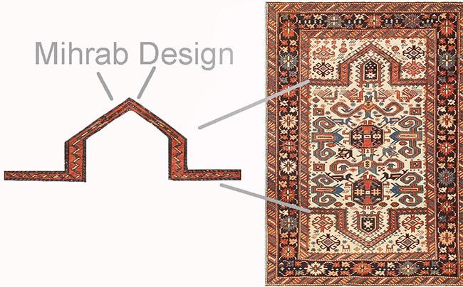 Mihrab Design Islamic Antique Muslim Prayer Rugs Nazmiyal