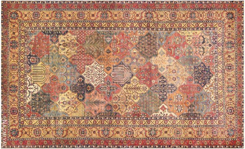 Antique 17th Century Persian Khorassan Carpet | Nazmiyal