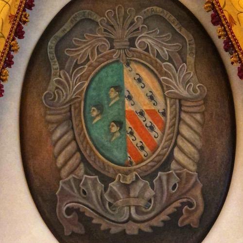 Scorpion crest