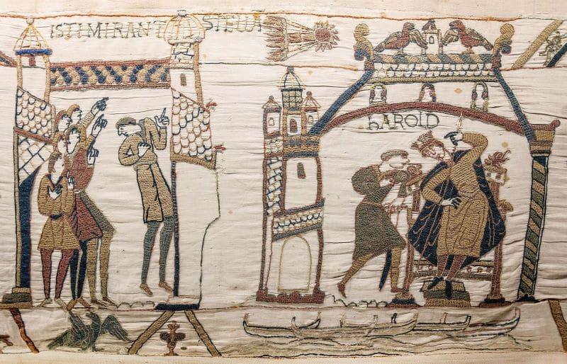 Bayeux Tapestry King Harold Nazmiyal
