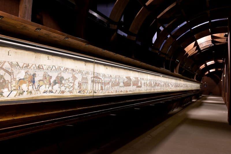 Bayeux Tapestry Display Nazmiyal