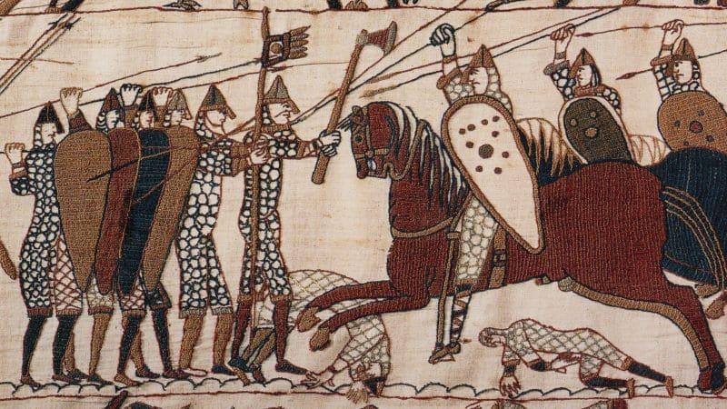Bayeux Tapestry Battle of Hastings Nazmiyal