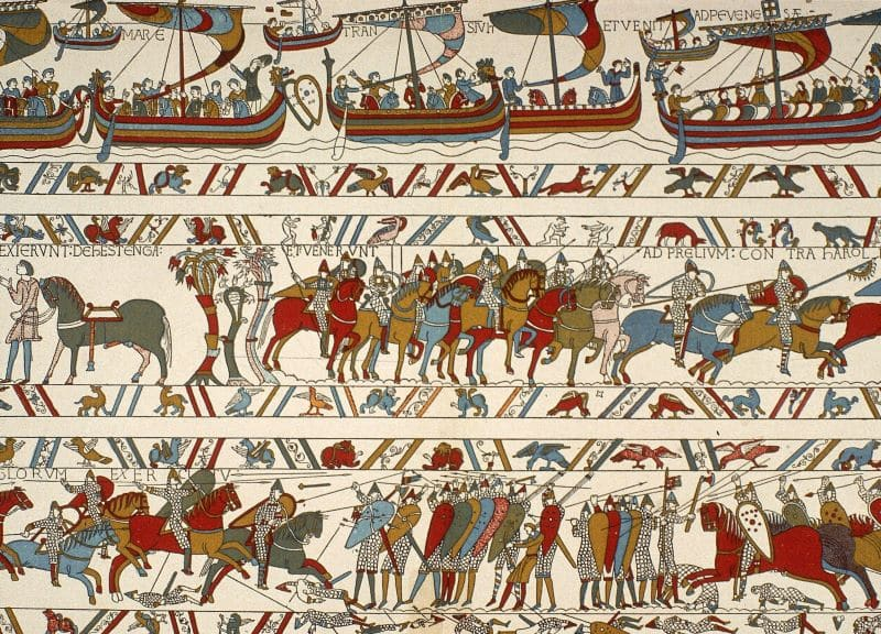 Partial Overview Bayeux Tapestry Nazmiyal