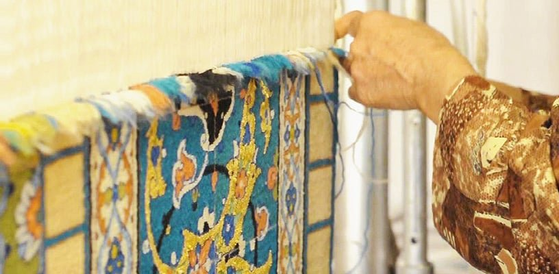 Weaving A Good Quality Persian Rug by Nazmiyal