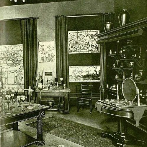 The 1904 Tiffany Room of Marshall Fields, Chicago