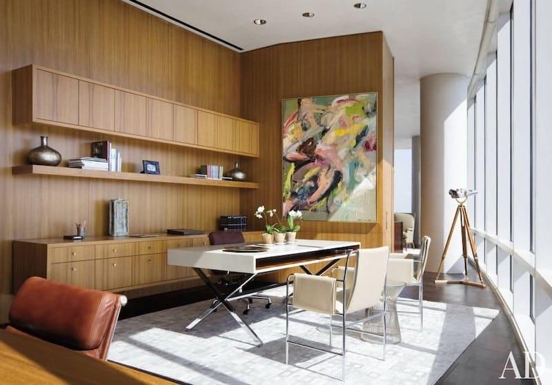 Modern Home Office Rugs Nazmiyal