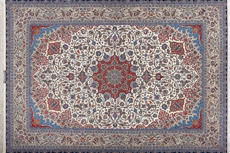 Persian Isfahan High Quality Rugs Nazmiyal
