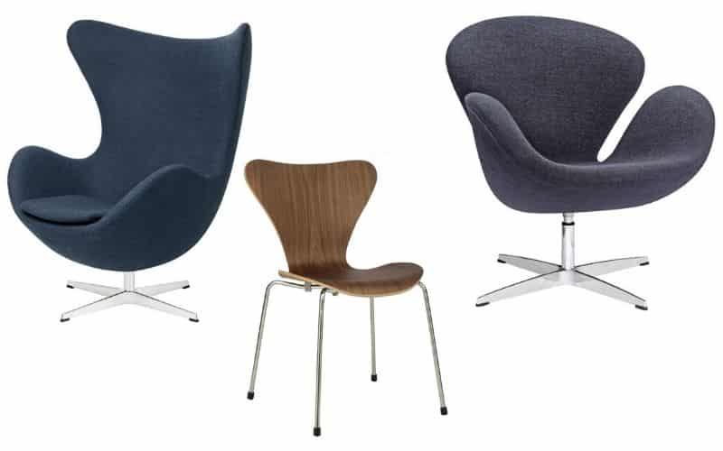 Danish Modern Arne Jacobsen Nazmiyal