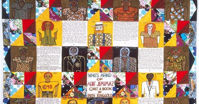 Faith Ringgold Who's Afraid of Aunt Jemima Namziyal