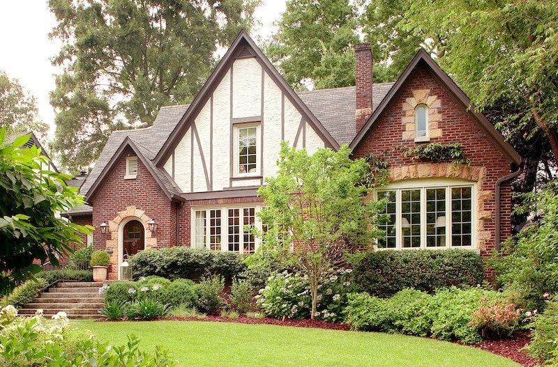 Tudor Style House Nazmiyal