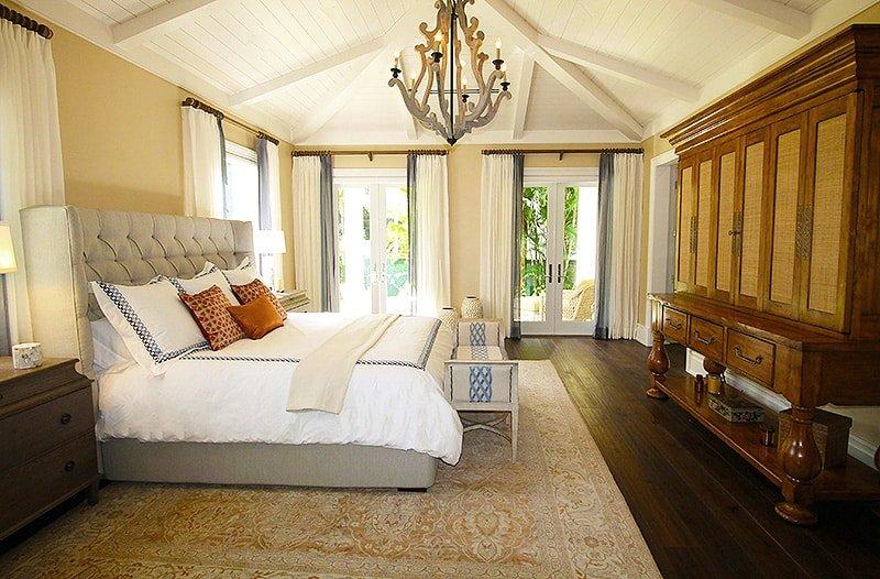 Bedroom Area Rug Interiors - Nazmiyal