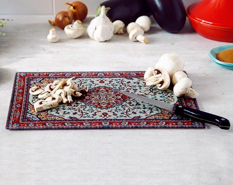 Persian Carpet Cutting Board Nazmiyal