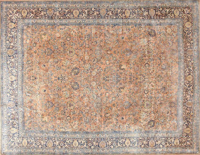 Large Antique Persian Kerman Rug | Nazmiyal
