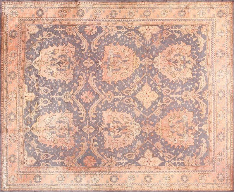 Antique Turkish Oushak Rug | Nazmiyal