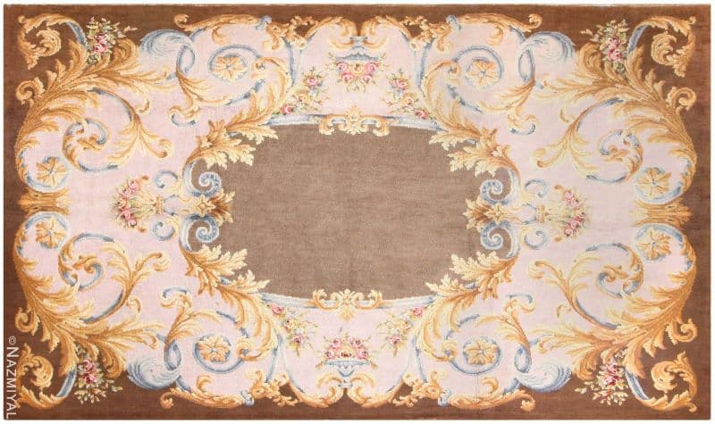 Large Antique Savonnerie French Rug Nazmiyal