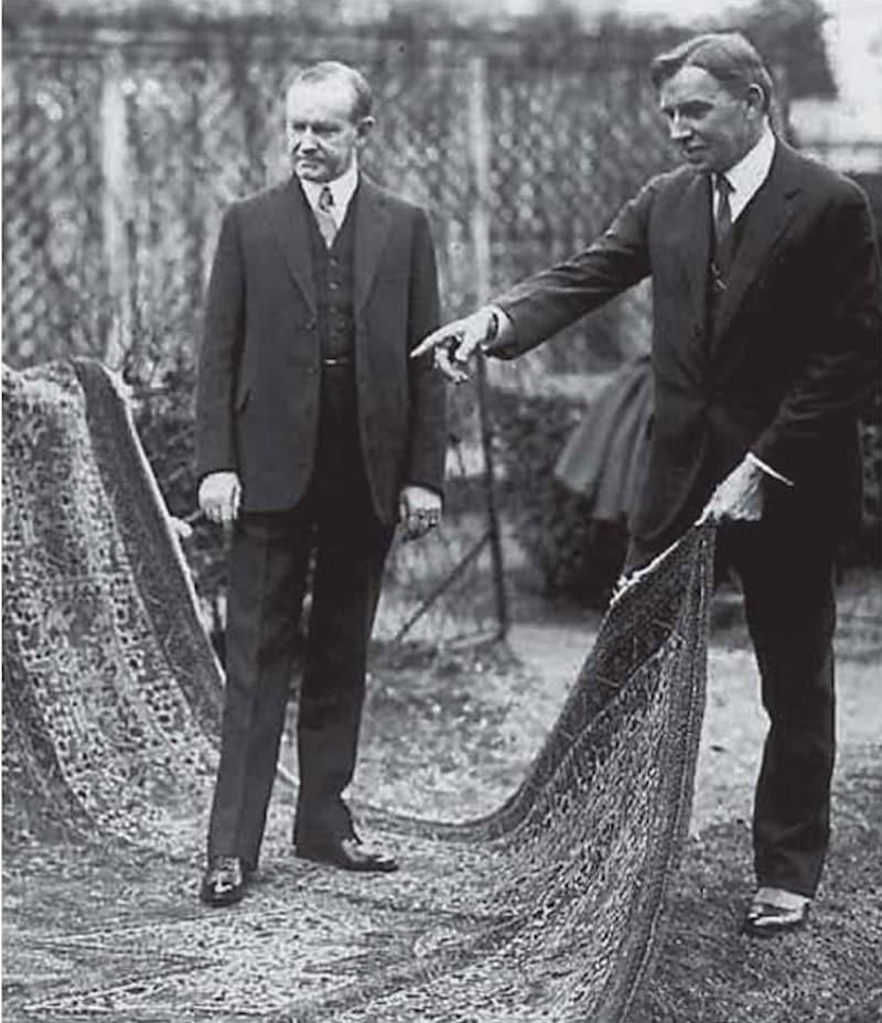 Calvin Coolidge Armenian Orphan Rug Nazmiyal