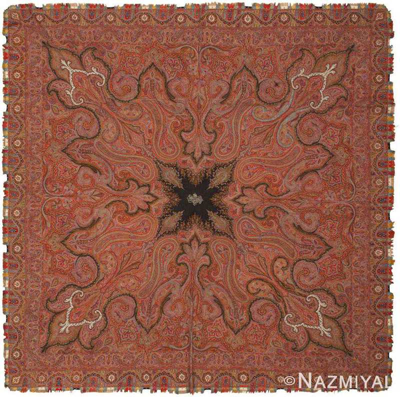 Antique Indian Shawl Nazmiyal