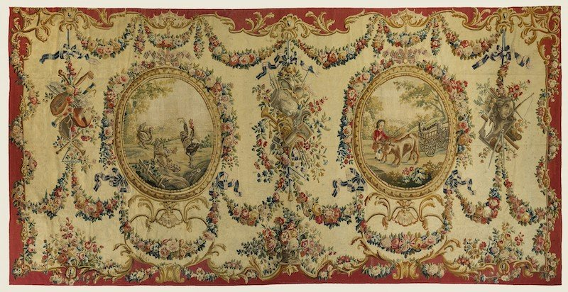 Aubusson Tapestries Nazmiyal