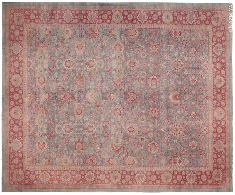 Antique Indian Rug Nazmiyal
