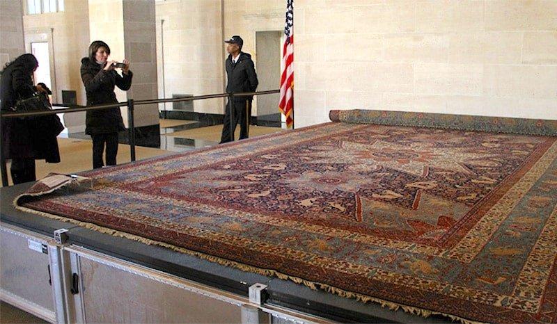 Armenian Orphan Rug White House Display Nazmiyal