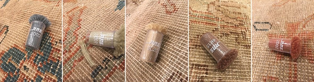 Recreating Antique Rug Colors by Nazmiyal Antique Rugs in NYC