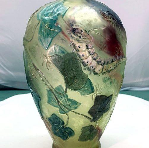 The best Burgun & Schverer vase in the world