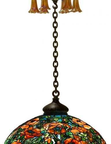Excellent results for Tiffany Studios lamps at Fontaine's Fine & Decorative Arts auction, September 12, 2020