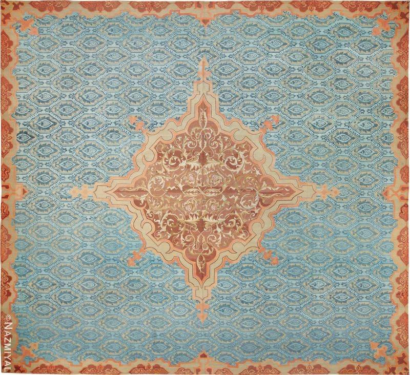 French Aubusson Carpet   Nazmiyal