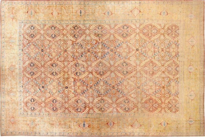 Intricate Silk Rug   Nazmiyal