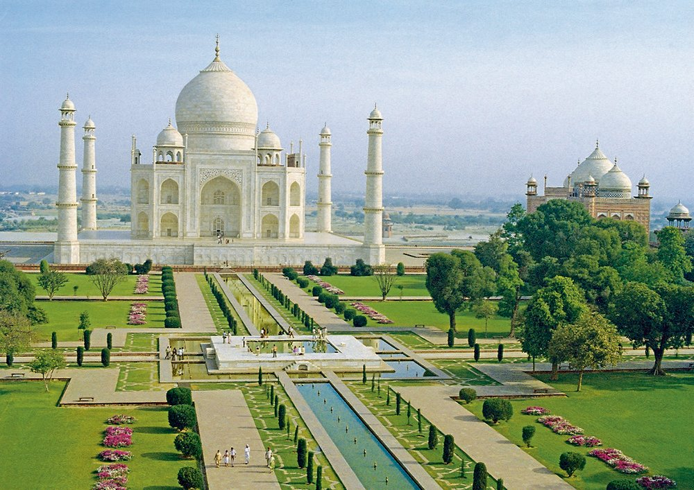Charbagh Gardens of The Taj Mahal by Nazmiyal Antique Rugs