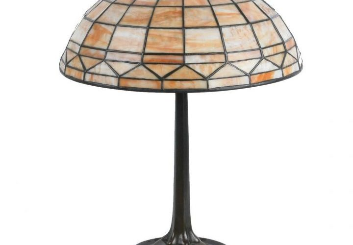 An important difference among Tiffany lamps is the glass