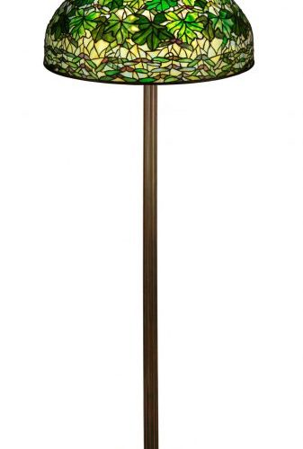 Cottone Auctions sold several Tiffany Studios lamps at their Art & Antiques sale, November 13-14, 2020